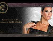 Sitio Web Carmenes Moda