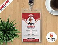 Office Id Card Templates PSD