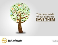 Enviornment Management System Posters for L&T Infotech
