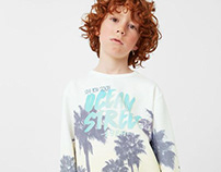 MANGO KIDS BOY - Sweatshirt Ocean