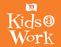 Kids @ Work : MNC Halloween Party Collateral
