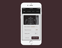 Starbucks | iOS Apple Pay Integration