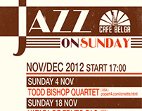 JAZZ ON SUNDAY - Café Belga