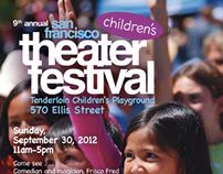 San Francisco Theatre Festival Poster & Postcard