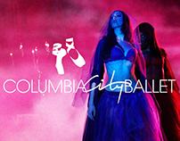 Columbia City Ballet Identity