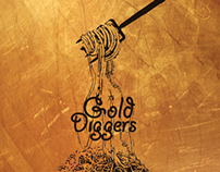 GOLD DIGGERS COOK BOOK- NEIL ROAKE