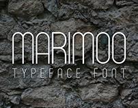MARIMOO // Typeface Font