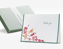 Illustrations for Crane & Co. Stationery