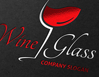 Wine Glass Logo