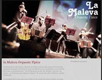 La Maleva Orquesta Típica - Sitio Web