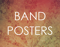Promotional Band Posters