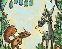 L'ane et le renard