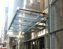 Custom Curtain Wall & Glass Canopy