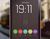 '11Jedenastka' - public transport schedule app