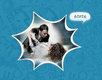 """AVEA """"Emre&Asli"""" Campaign Minisite '10"""