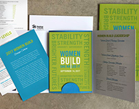 Campaign branding for DC Habitat's Women Build