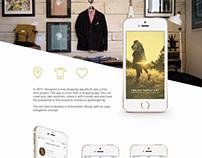 concept study - Shopping App