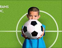 Kids Pro Soccer redesign