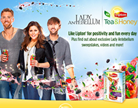 Lipton Tea & Honey Launch