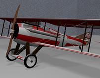 Plain Spad VII / 3D Modelind