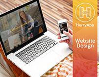 HurryApp Website