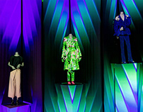 """""""Gender-Bending Fashion"""" Projection Mapping @ MFA"""