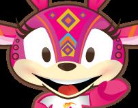 Panamerican Games Mascot: Guadalajara 2011