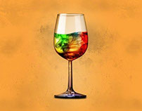 Glass of Colors...