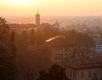 Sunrise in Bergamo