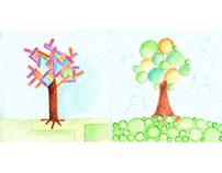 arbolitos / little trees