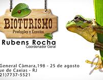 Cartão de visitas - Bioturismo