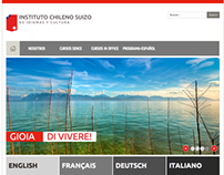 INSTITUTO CHILENO SUIZO | New Image & Website