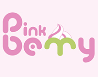 Pink Berry logo options.