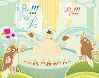 Ilustración Revista Polemikos Ed.1
