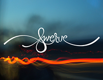 """Swerve"" – Hand Lettered Typography"
