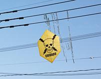 Pipas Placas de Alerta • Canto Cidadão | Outdoor