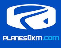 Planes 0km re diseño de logo y sitio