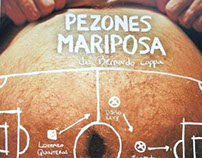 Afiche Obra teatral Pezones Mariposa - Diseño 2
