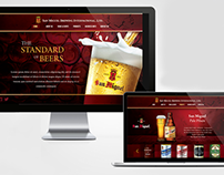 San Miguel Beer International Website