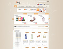 Old Trend Online Shop Webdesign