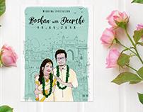 Roshan & Deepthi (Wedding Invite)