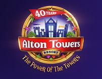 Alton Towers Brand Logo Refresh