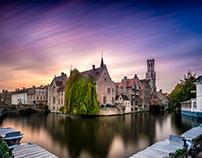 Sunset Bruges