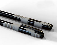 Writing instruments - ballpoint stick pens