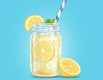 Illustrations for ads
