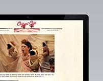 Outcast Cafe Branding and Website Design
