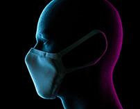 Face Mask Mockup - Free download (PSD)