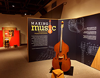 Making Music Exhibit Graphics & Visual Identity