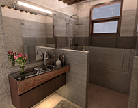 Bathroom design simple