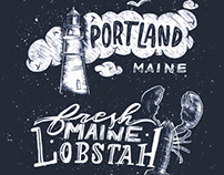 Maine Typography